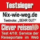 Clever Reisen: Testsieger Service