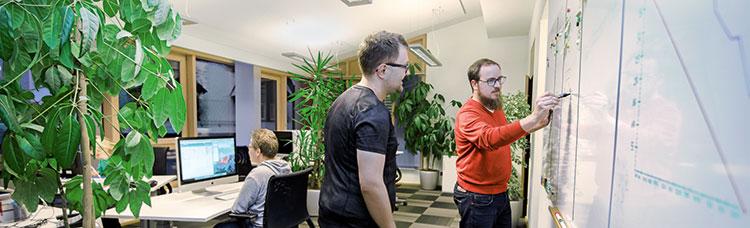 Unser Entwickler-Büro in Parkstein